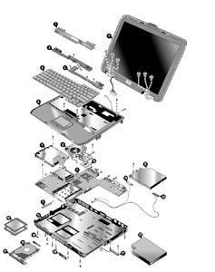 החלפת מסך למחשב נייד